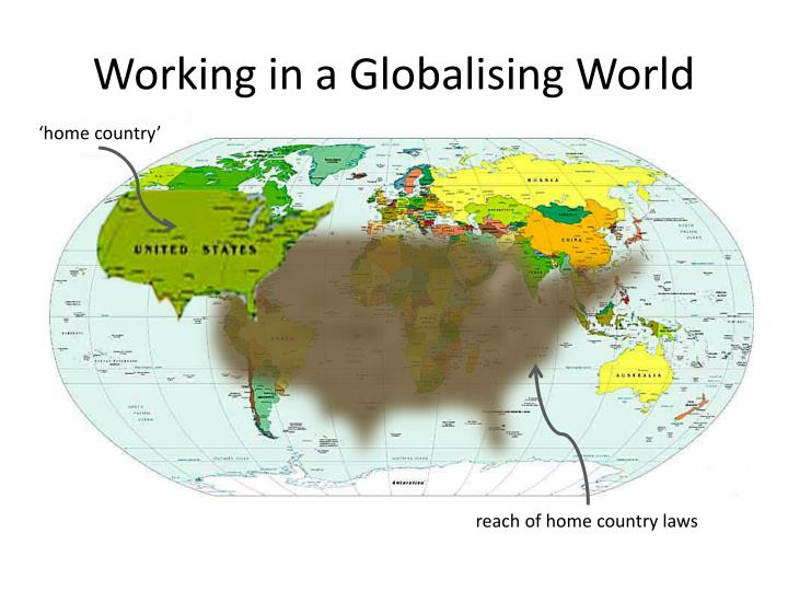 Working in a Globalising World