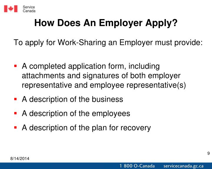 How Does An Employer Apply?
