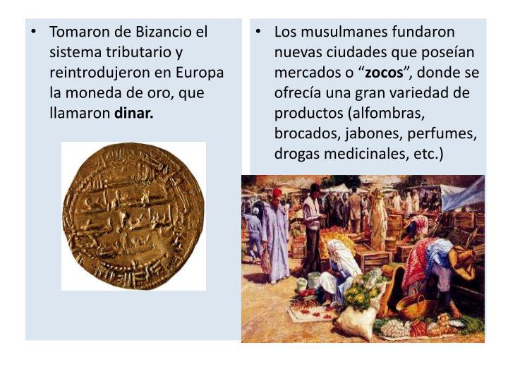Los musulmanes fundaron nuevas ciudades