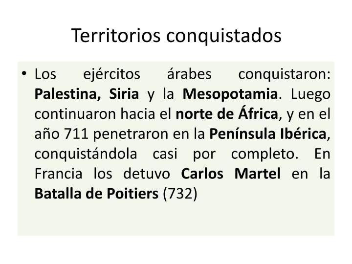 Territorios conquistados