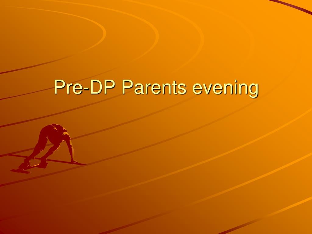 Dp evening
