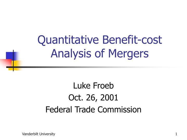 an analysis of the mergers and the federal commerce commission Researching public companies through edgar: preliminary proxy material relating to a merger neither the united states bankruptcy code nor the federal.