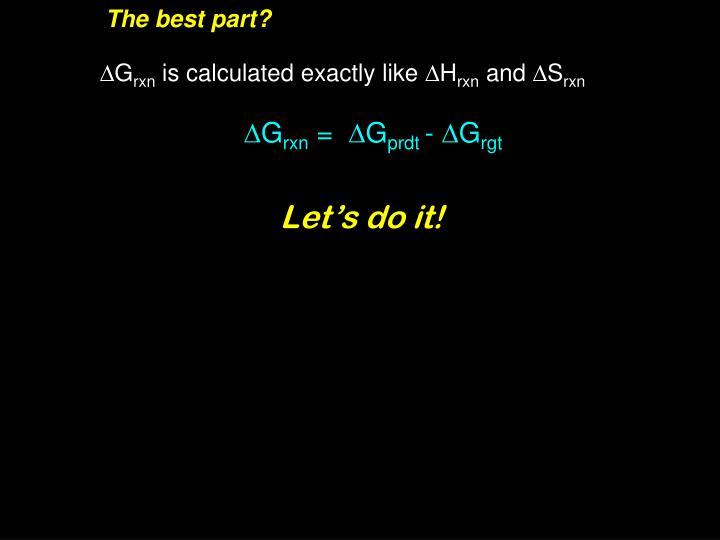 The best part?