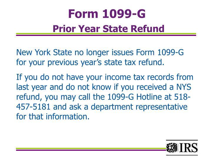 Form 1099-G