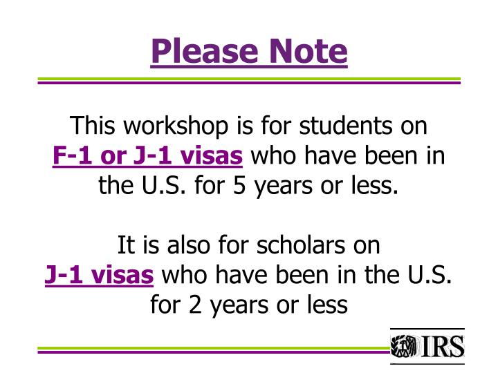 Please Note