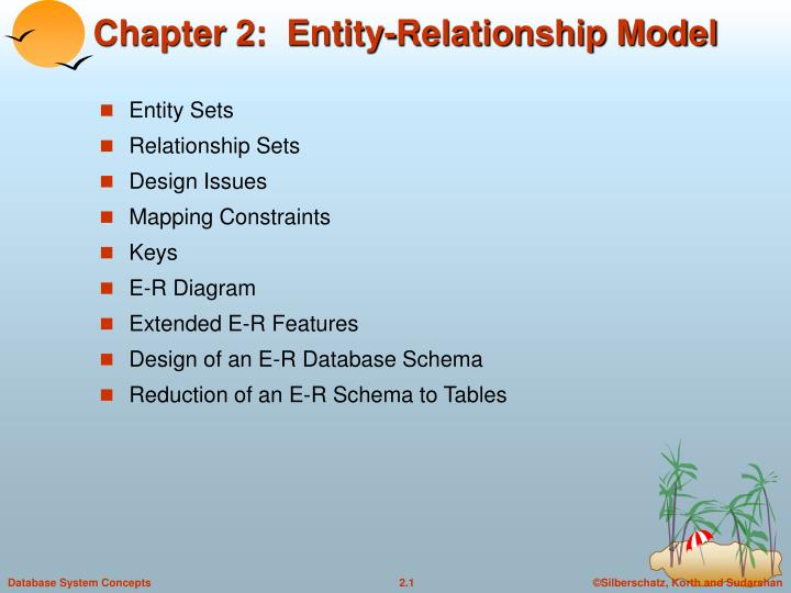 Ppt chapter 2 entity relationship model powerpoint presentation chapter 2 entity relationship model ccuart Image collections
