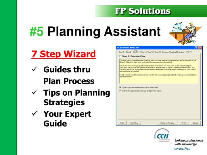 7 Step Wizard