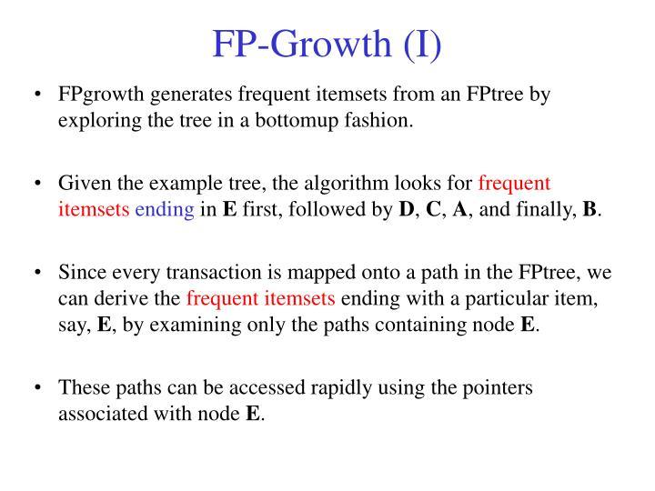 FP-Growth (I)