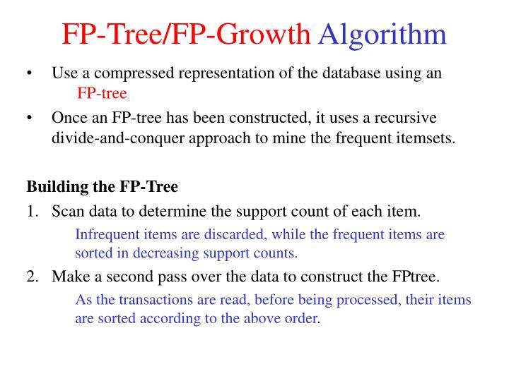 Fp tree fp growth algorithm