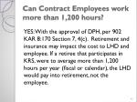 can contract employees work more than 1 200 hours
