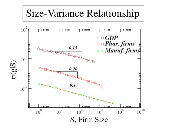 Size-Variance Relationship