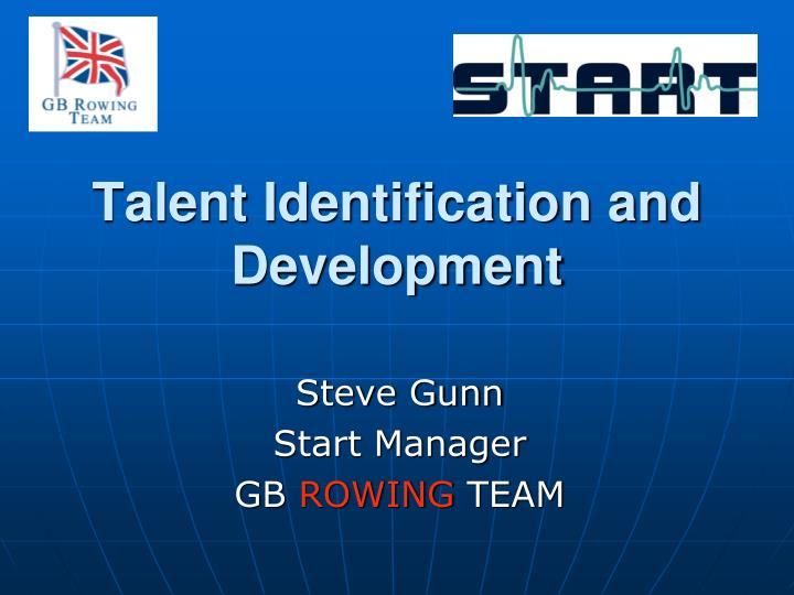 talent identification Talent identification talent identification in the uk there are various schemes and agencies which deal with talent identification in the uk  national framework for sport - a partnership.