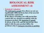 biological risk assessment 4