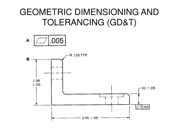 PPT - GEOMETRIC DIMENSIONING AND TOLERANCING (GD&T) PowerPoint ...