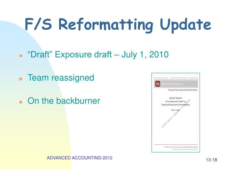 """Draft"" Exposure draft – July 1, 2010"