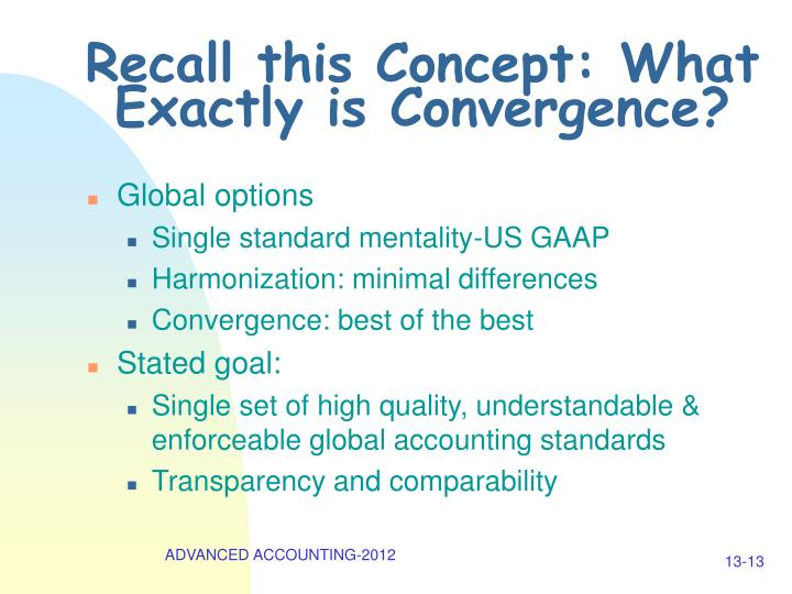 Recall this Concept: What Exactly is Convergence?