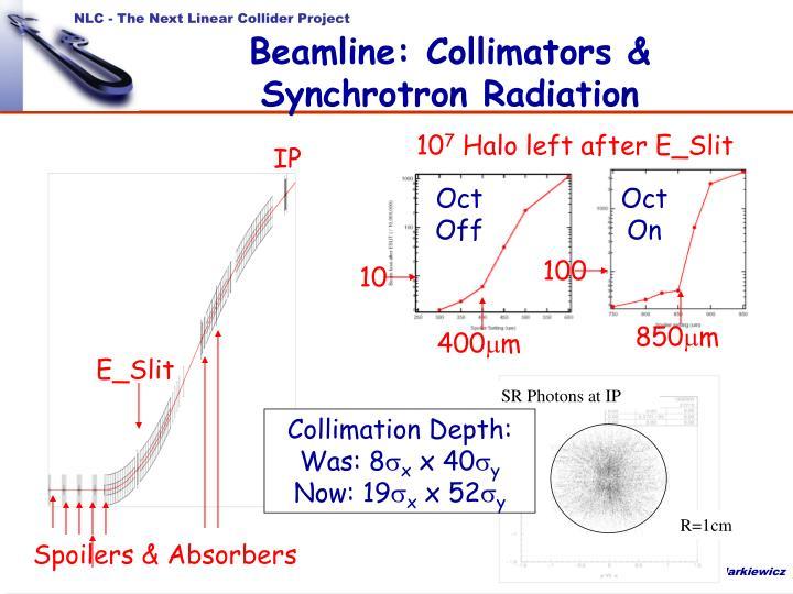 SR Photons at IP