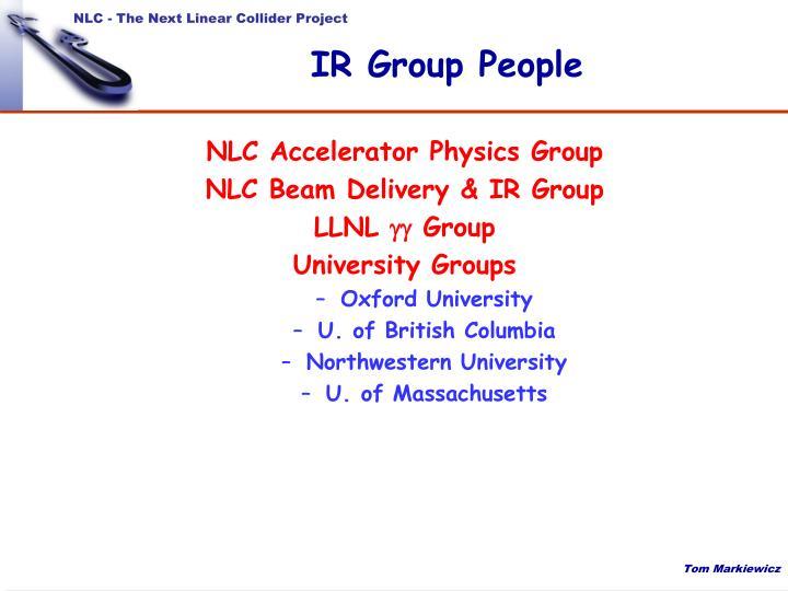Ir group people