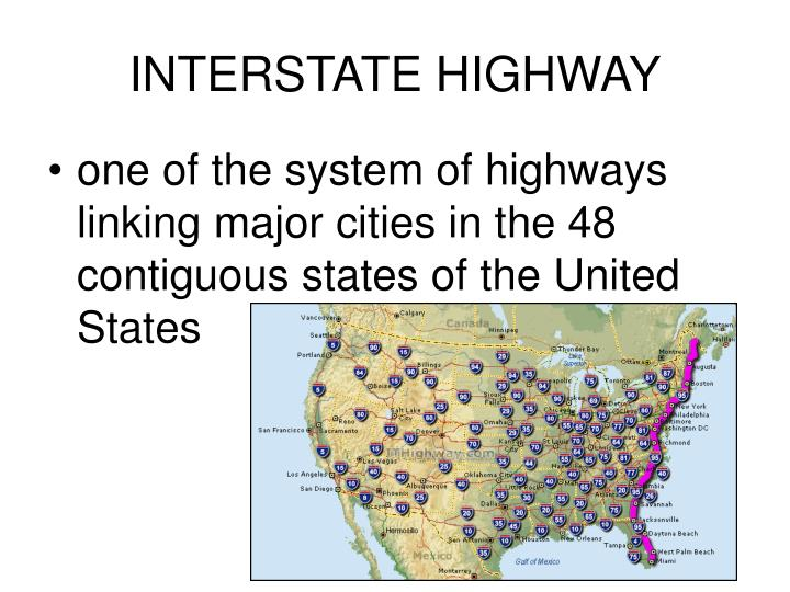 Interstate highway