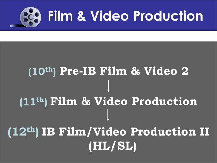 Film & Video Production