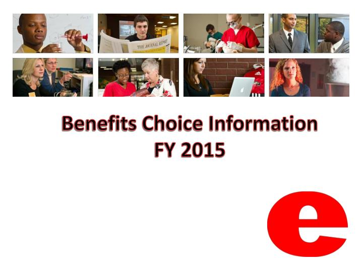 benefits choice information fy 2015 n.