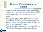 general characteristics of winds