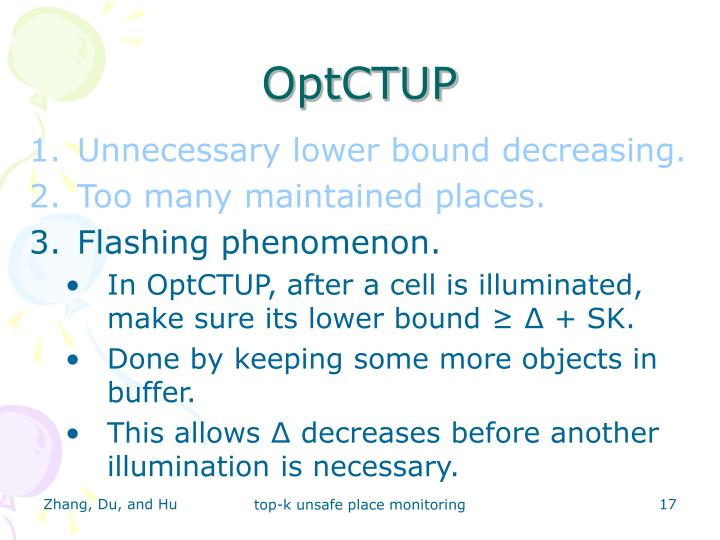 OptCTUP