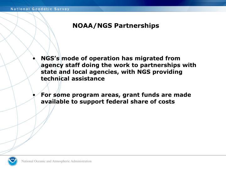 NOAA/NGS Partnerships