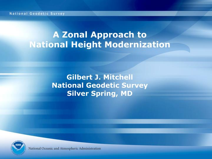 A Zonal Approach to
