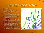 mapping ramp location