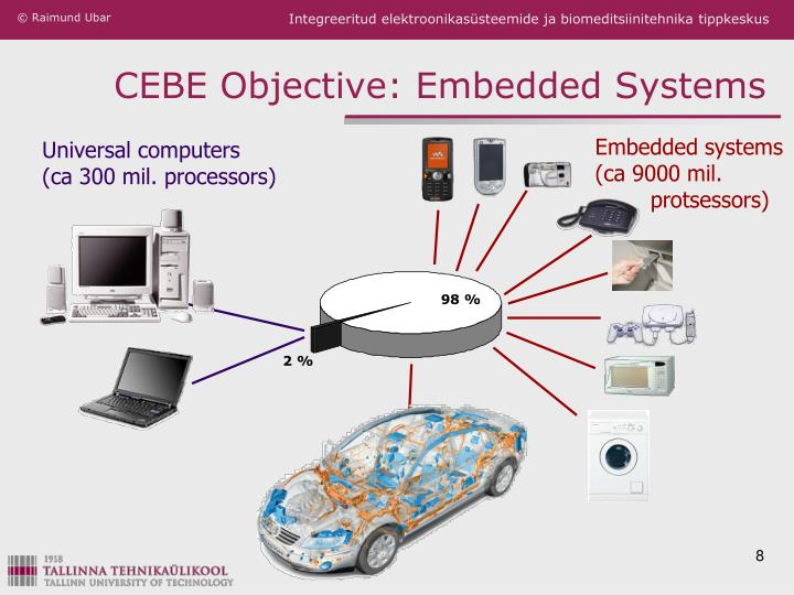 CEBE Objective: Embedded Systems