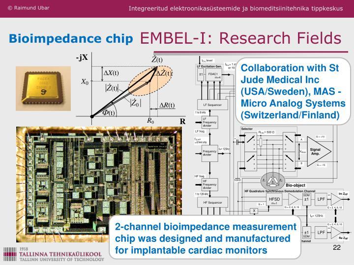 Bioimpedance chip