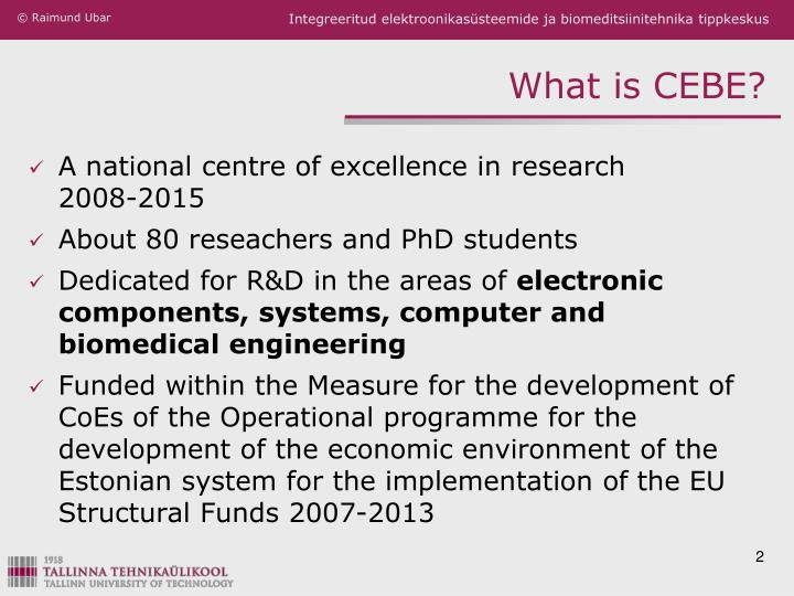 What is cebe
