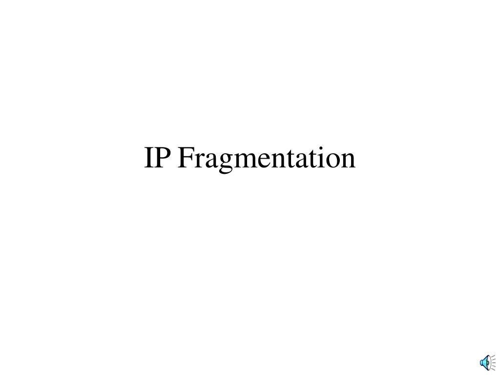 Ip header total length fragmentation asexual reproduction