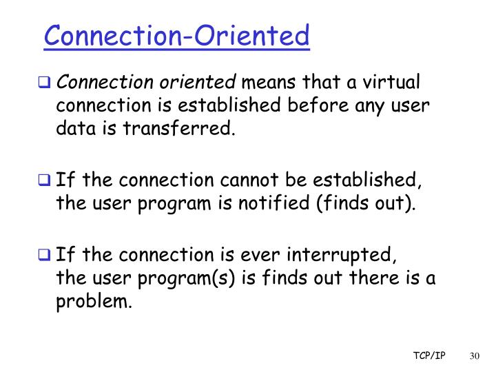 Connection-Oriented