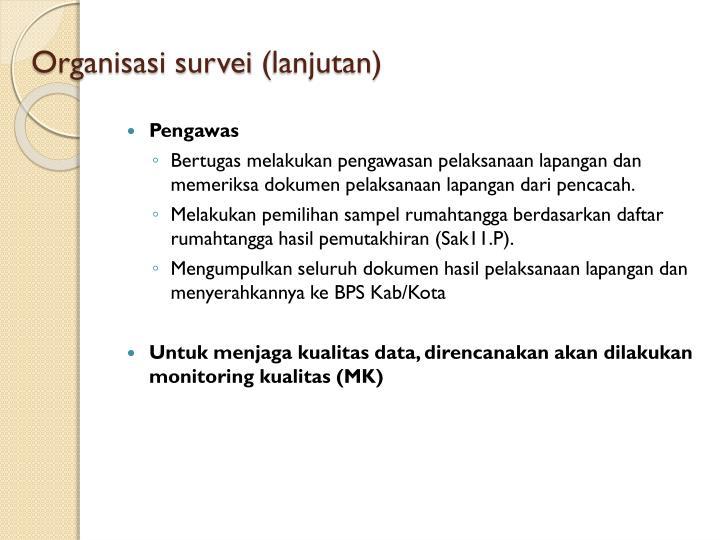 Organisasi survei