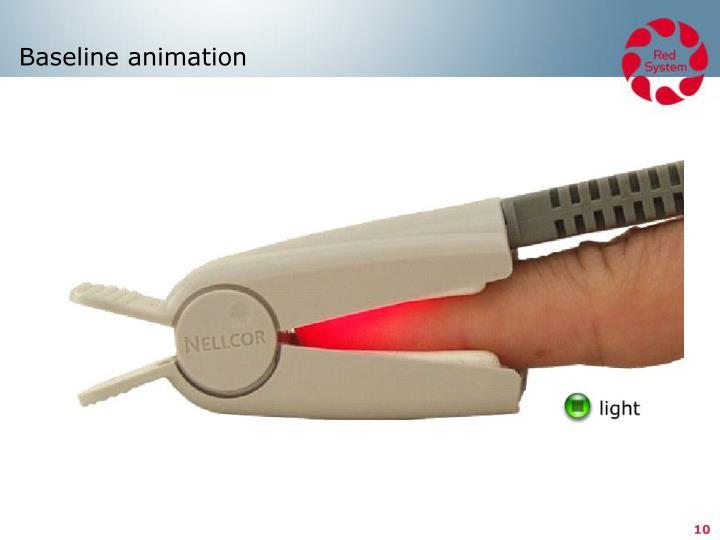 Baseline animation
