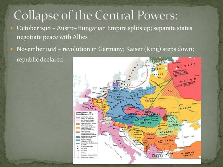 Collapse of the Central Powers: