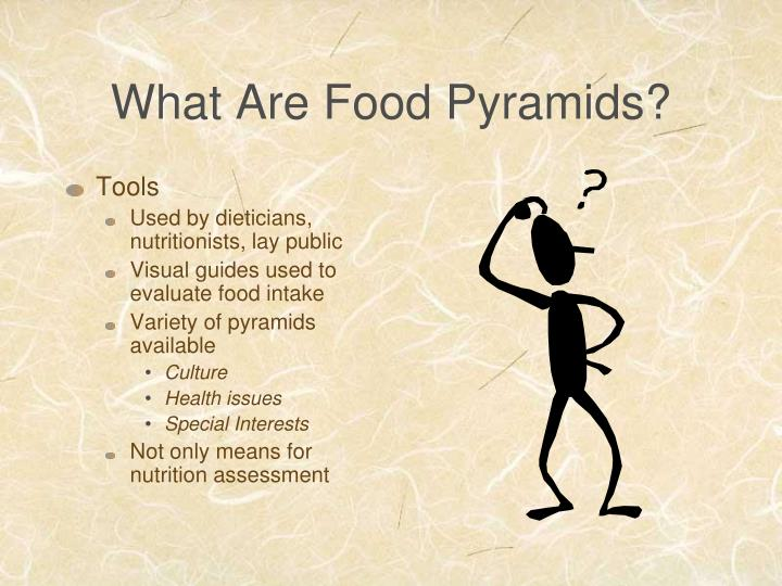 What are food pyramids