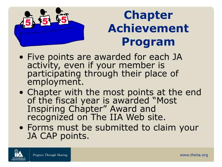 Chapter Achievement Program