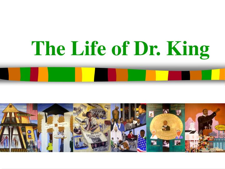 the life of dr king n.