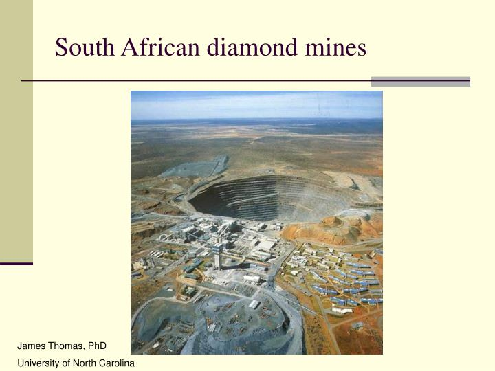 South african diamond mines