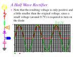 a half wave rectifier1