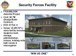 security forces facility