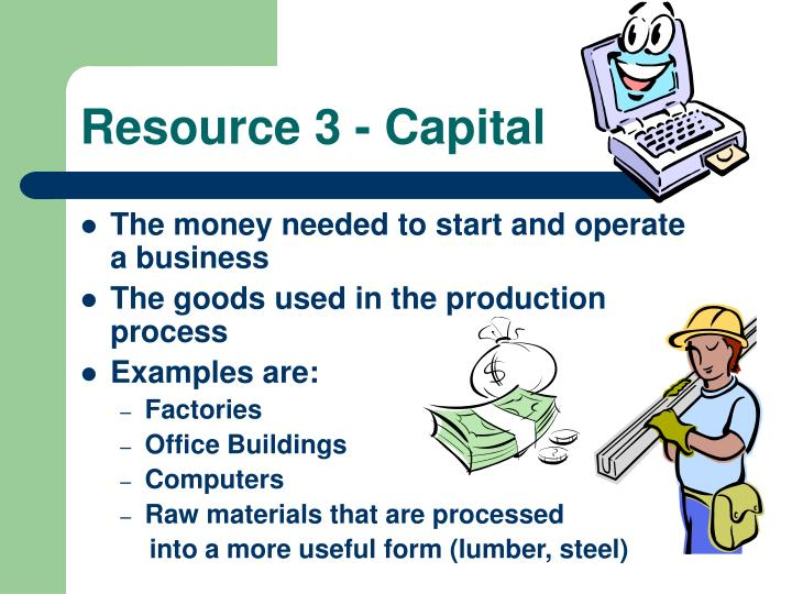 Resource 3 - Capital