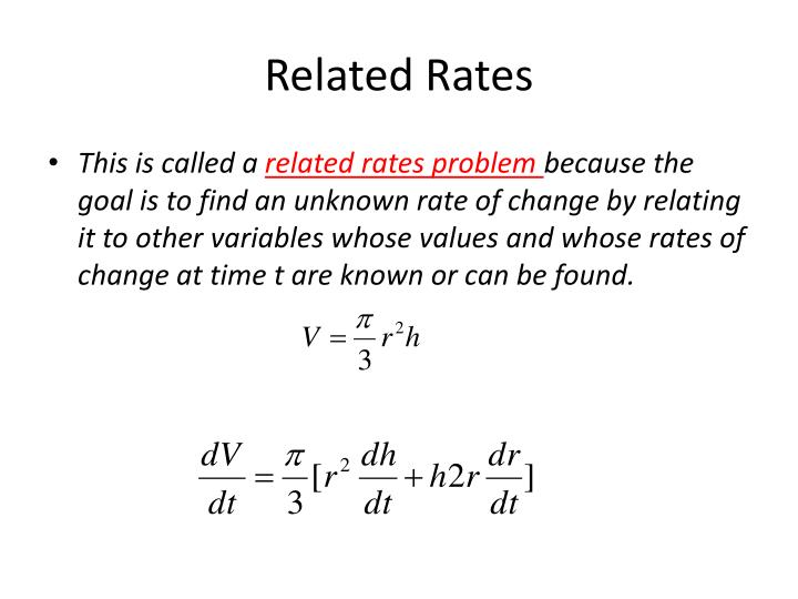 Related rates2