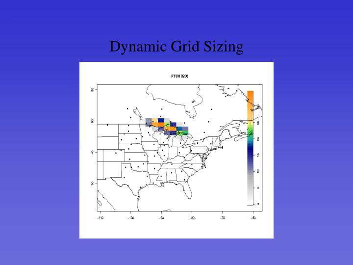 Dynamic Grid Sizing