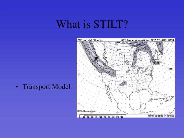 What is STILT?