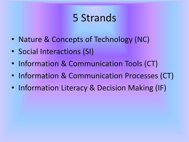 5 Strands