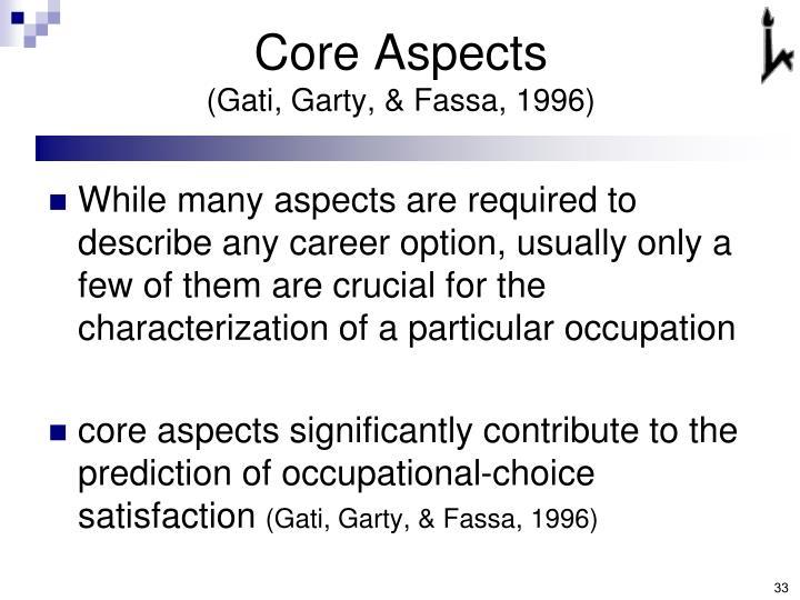 Core Aspects